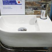 Cloackroom bathroom basins 5 - Bathroom Depot Leeds