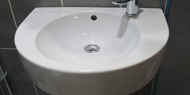 Semi pedestal basins
