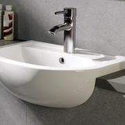 Semi recessed bathroom basins 3 - Bathroom Depot Leeds
