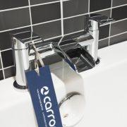 Bath waterfall taps 2 - Bathroom Depot Leeds