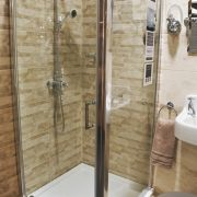 Pivot door shower enclosures, shower cubicles - Bathroom Depot Leeds 3