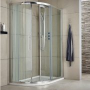 Quadrant shower enclosures, shower cubicles - Bathroom Depot Leeds 8
