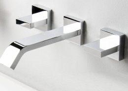 Wall mounted bath taps 1 - Bathroom Depot Leeds